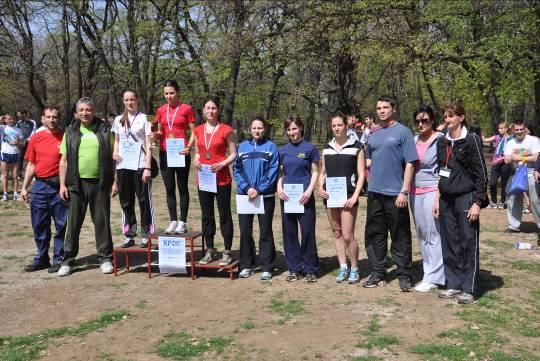 [Najbolje studentkinje u trci na 4000m]